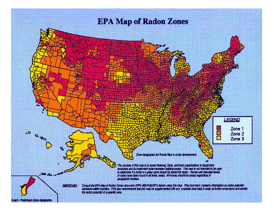 radon-map
